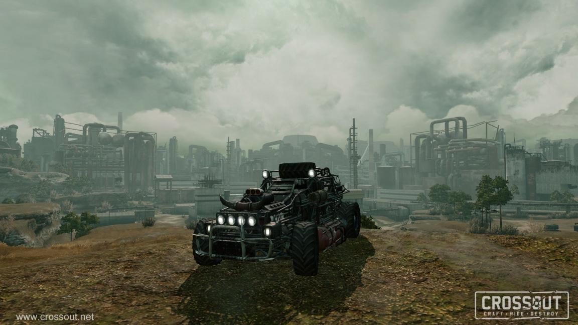 Madmaxovská automobilová akce Crossout vás zve do další fáze testování