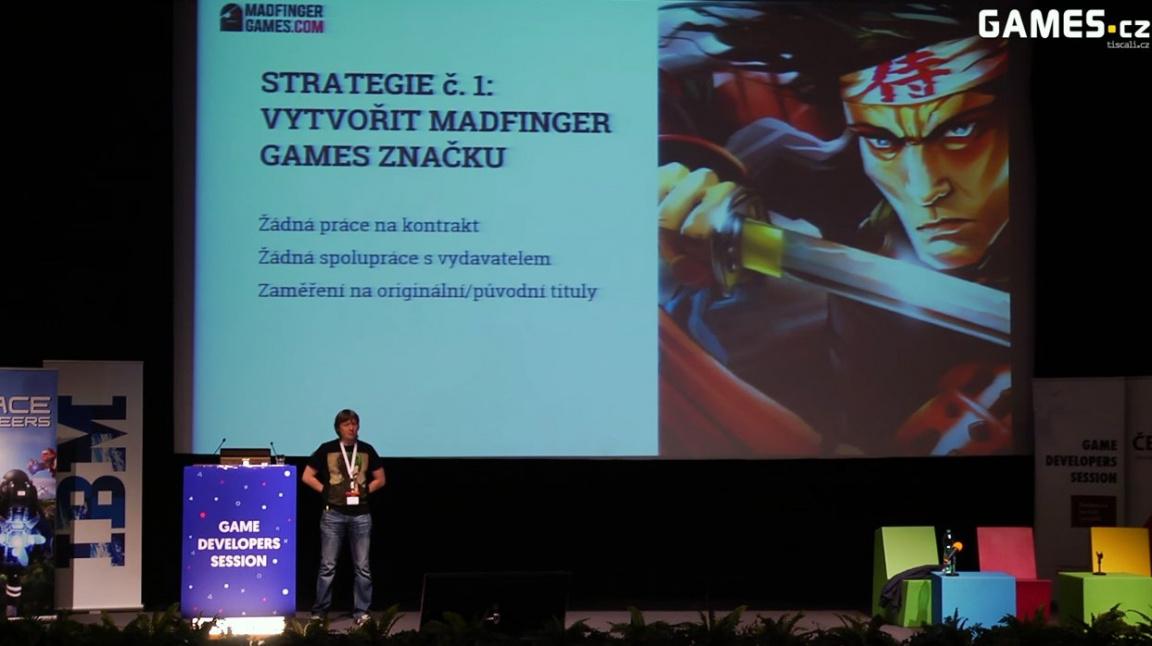 GDS 2015: Marek Rabas o prvních pěti letech fungování studia Madfinger Games