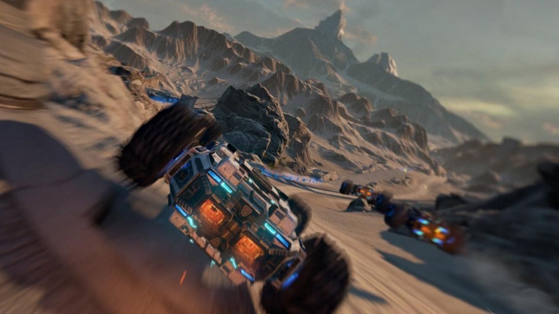 Závodní akce Grip se na Steamu pokouší zopakovat úspěch Next Car Game