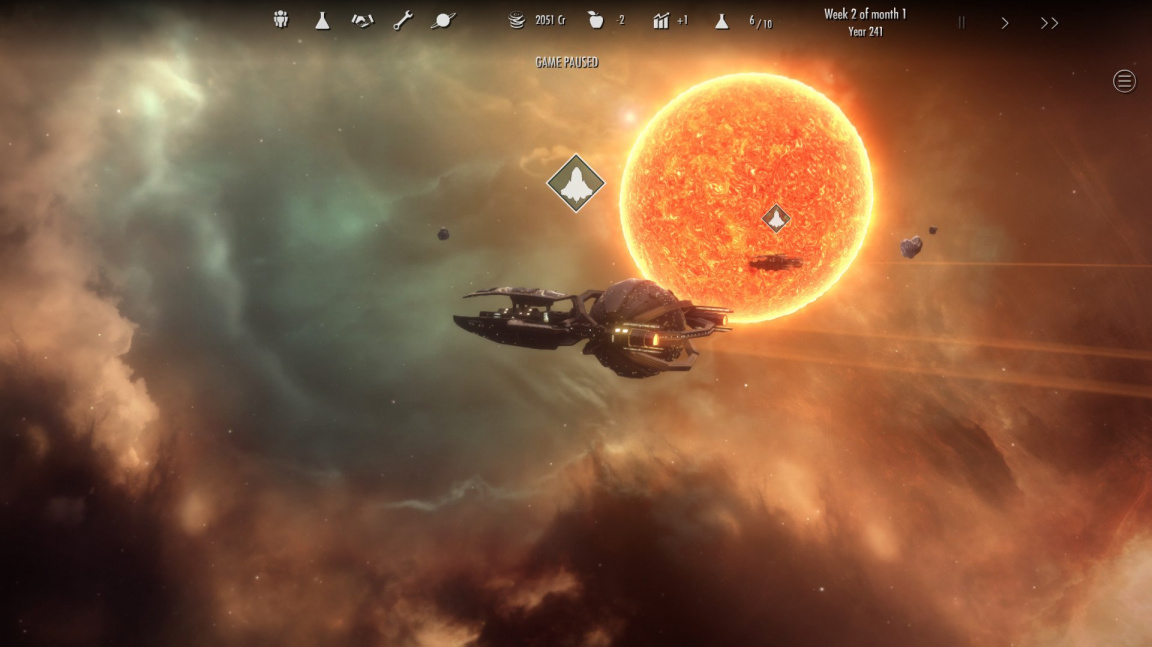 Ve sci-fi 4X strategii Dawn of Andromeda se vracíte do galaktické kolébky lidstva