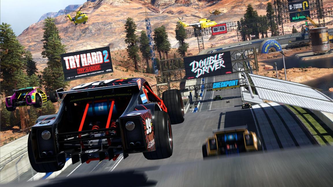 Konzoloví hráči si vyzkouší Trackmanii Turbo v otevřené betě, PC hráči v demu
