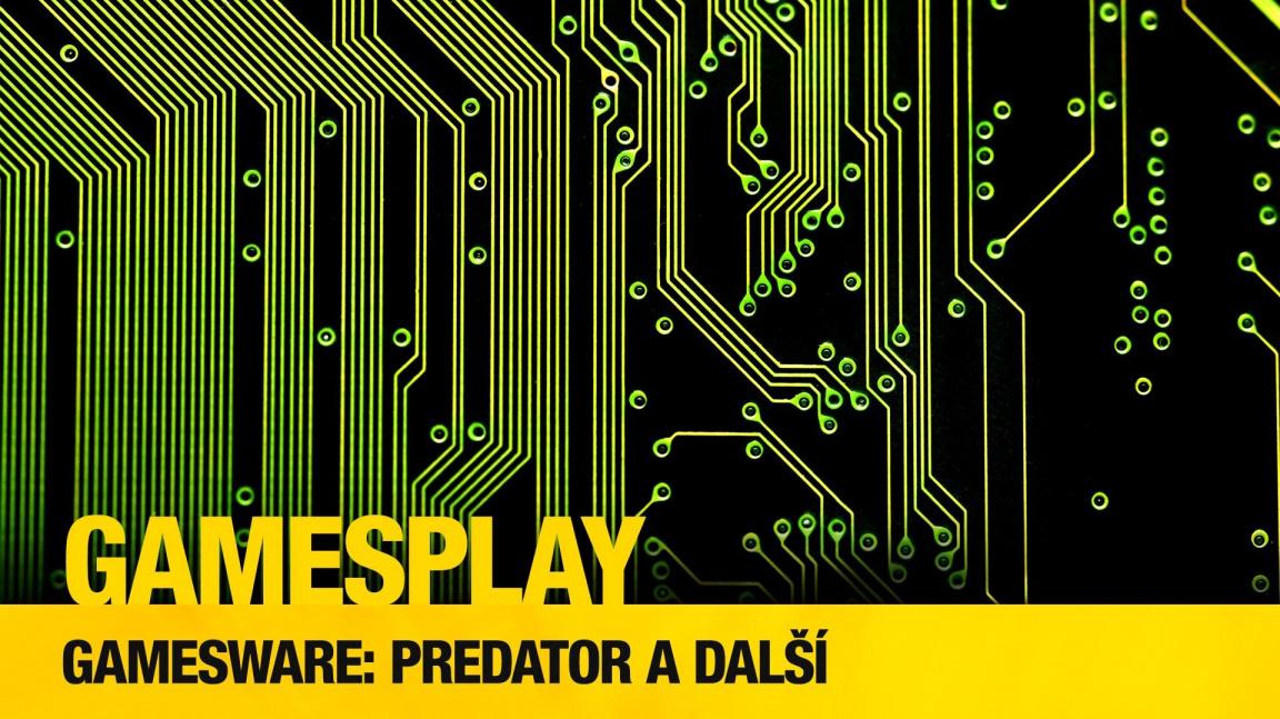 GamesPlay: testujeme herní notebook Acer Predator a ovladač Venom X