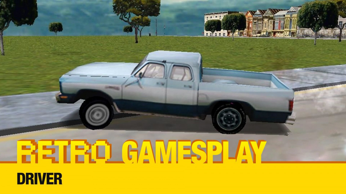 Retro GamesPlay: hrajeme automobilovou akci Driver