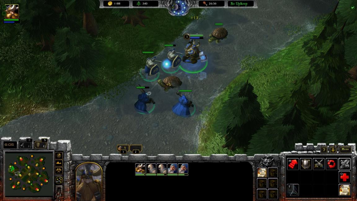 Můžete si zahrát první mapu modu Warcraft: Armies of Azeroth pro StarCraft II