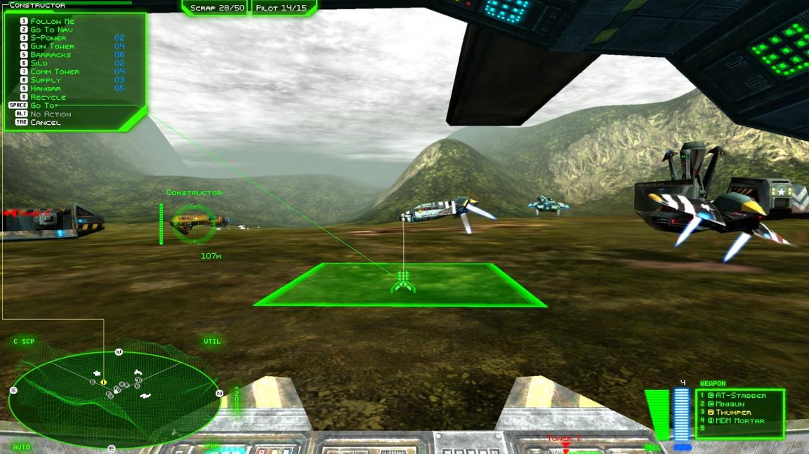 První záběry z remasteru akční strategie Battlezone