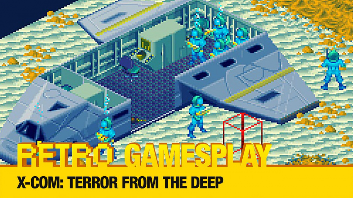 Retro GamesPlay: hrajeme klasickou tahovku X-COM: Terror from the Deep