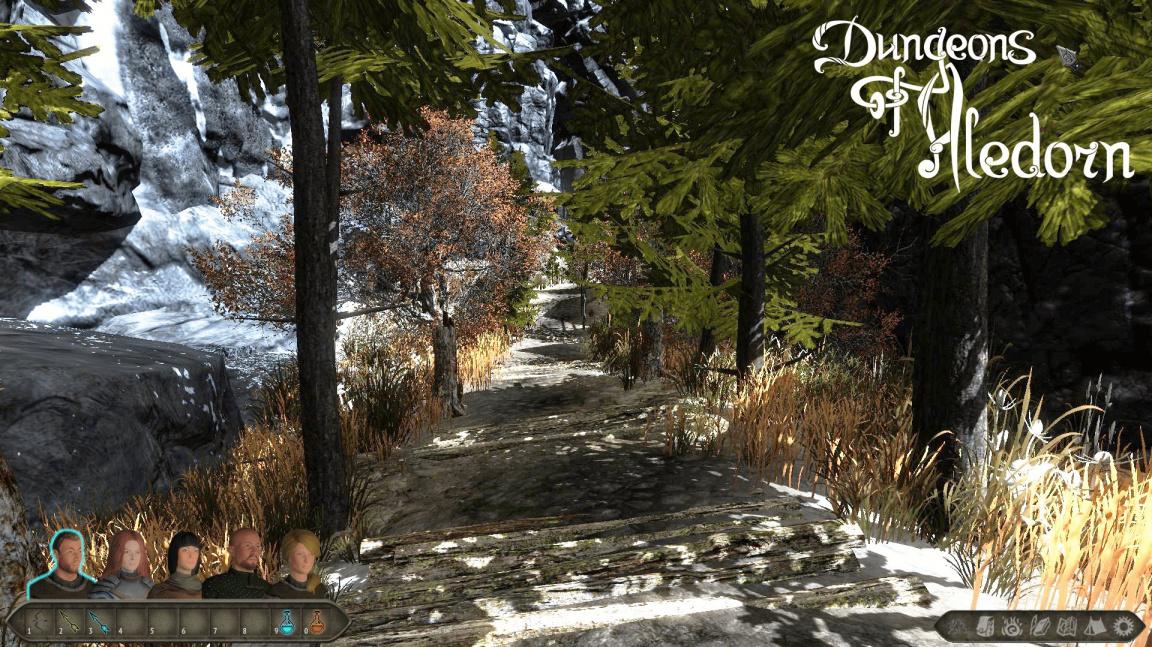 Vývojáři českého RPG Dungeons of Aledorn předvádí zbraně a dovednosti