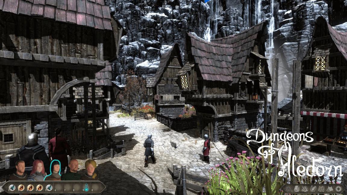 Alfa českého RPG Dungeons of Aledorn nabízí dvě lokace a čtyři souboje
