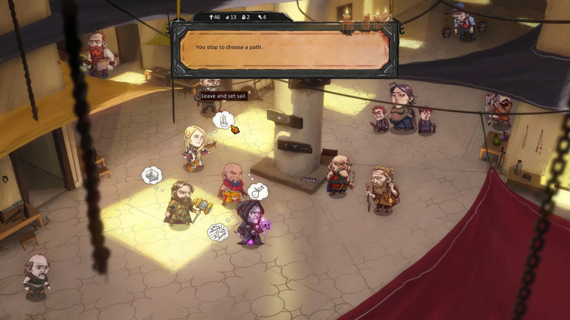 Námořní RPG Overfall vyplulo do neklidných vod předběžného přístupu