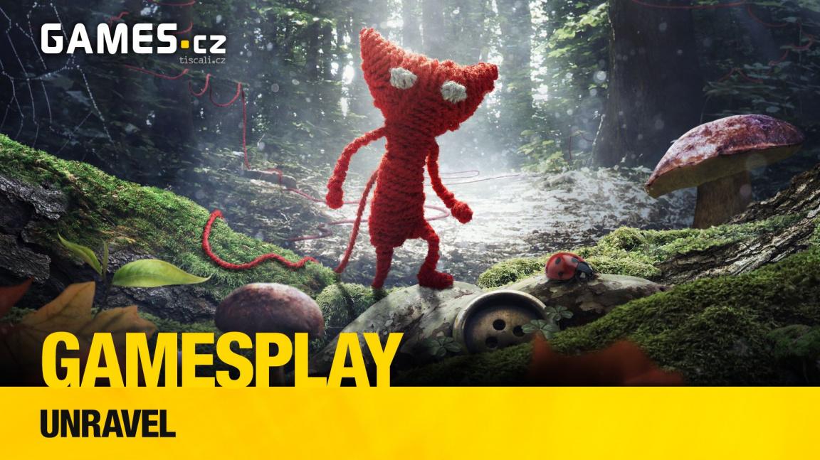 GamesPlay: Hrajeme kouzelnou plošinovku Unravel