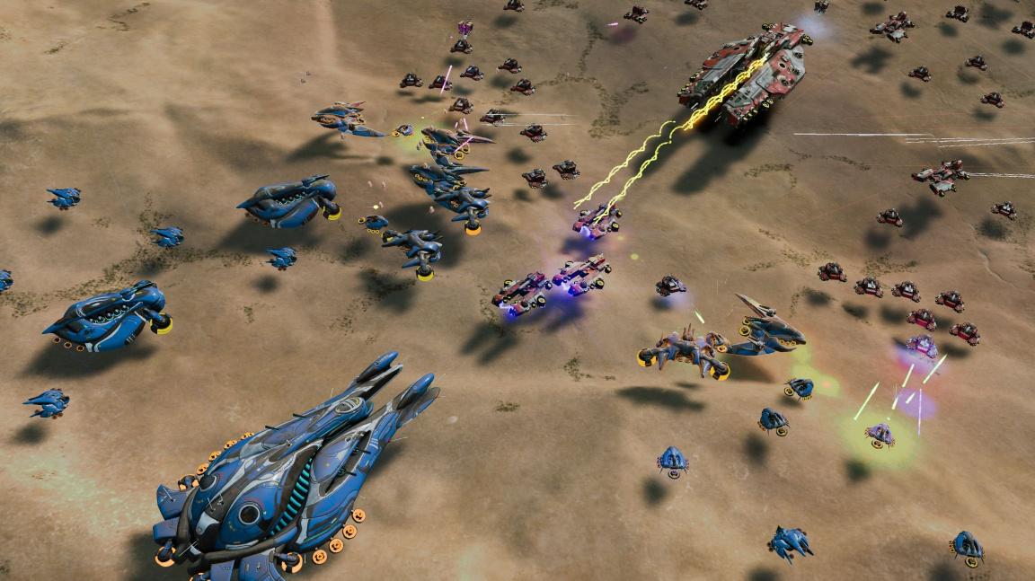 Megalomanská strategie Ashes of the Singularity vyjde na konci března