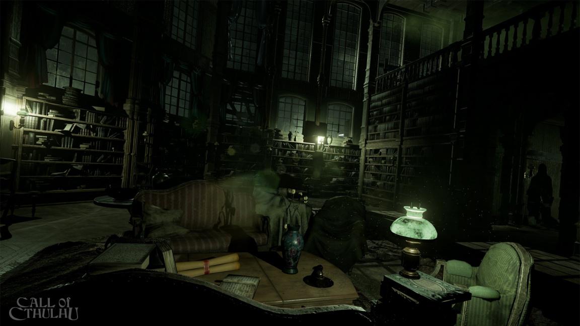 Detektivní RPG Call of Cthulhu mění vývojáře a předvádí se na prvních obrázcích