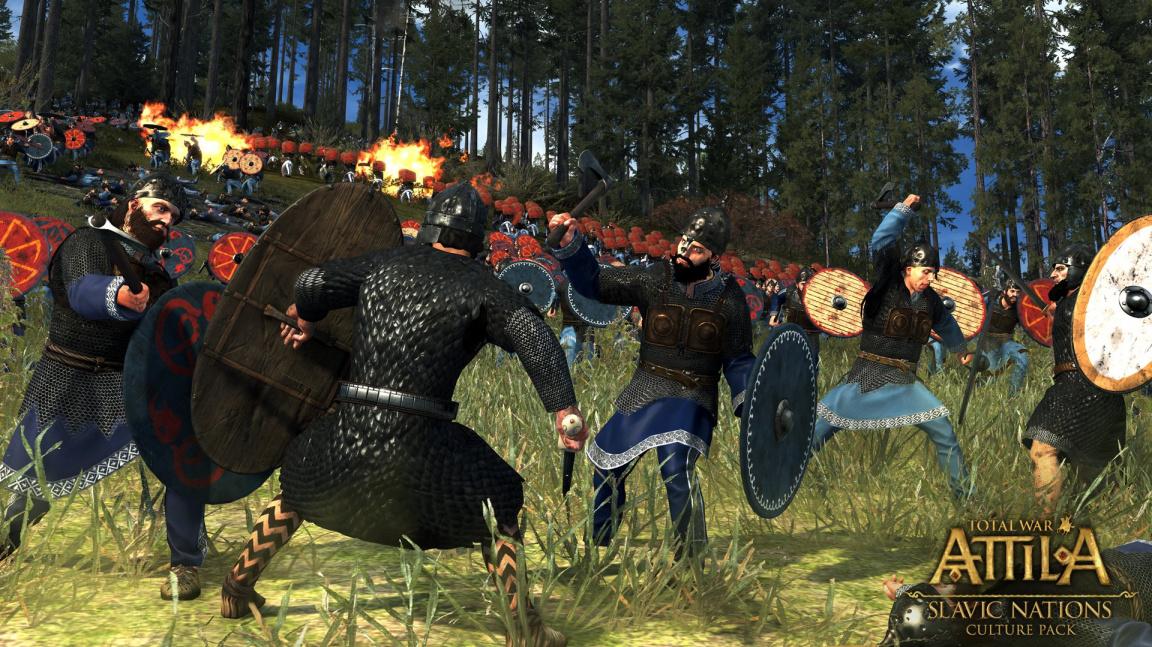 Do Total War: Attila vtrhly s novým přídavkem slovanské národy