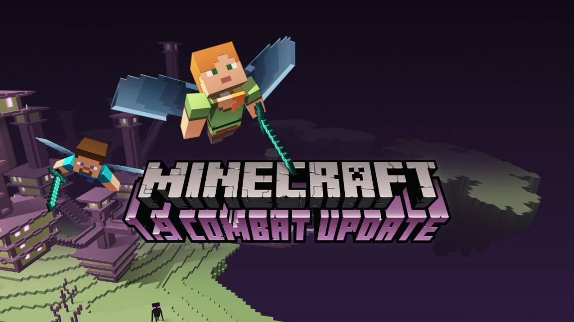 Velký update pro Minecraft zásadně rozšiřuje soubojové možnosti