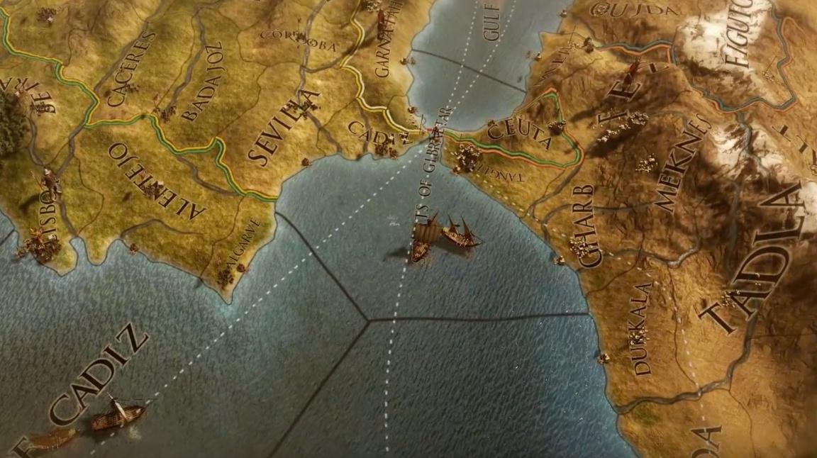 Datadisk Mare Nostrum pro Europa Universalis IV rozšíří mapu a přidá kondotiéry