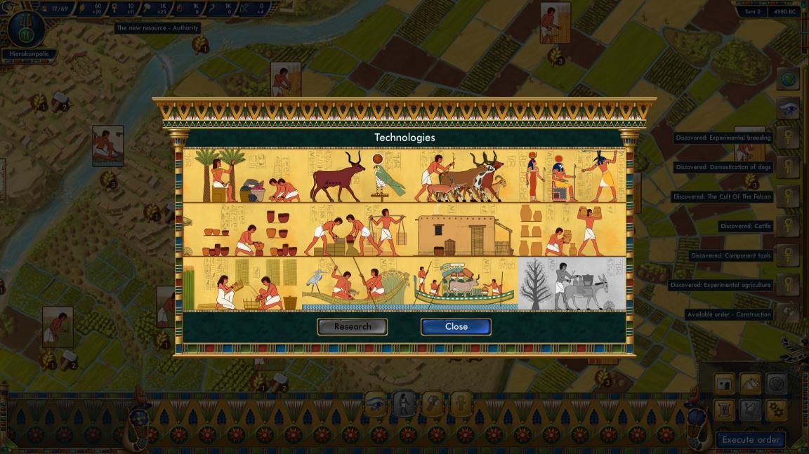 Budovatelská strategie Egypt Civilization vás provede 4000 lety dějin starověké civilizace