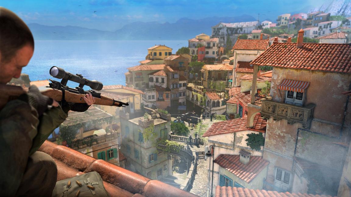 Sniper Elite 4 vyjde ještě letos a nabídne větší mapy i lepší grafiku