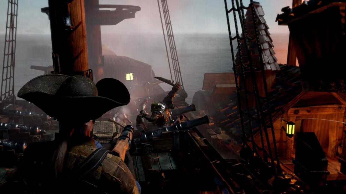 Námořní RPG Man O' War: Corsair ze světa Warhammeru nabídne patnáct frakcí