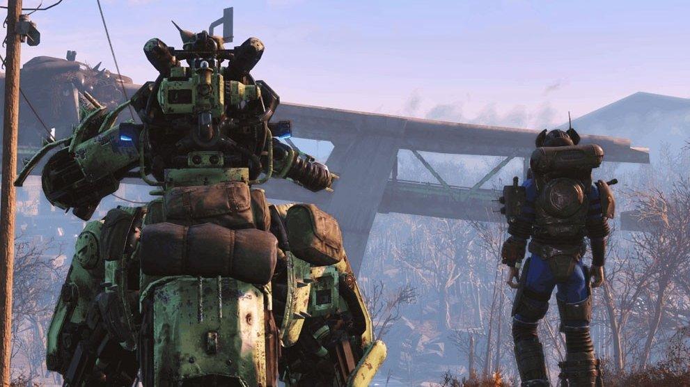 Robotické DLC Automatron pro Fallout 4 vyjde za týden