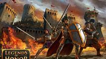 Webová strategie Legends of Honor vám dovolí vybudovat hrad, město i obrovskou armádu