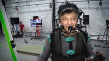 Andy Serkis předvádí natáčení filmečků pro singleplayer kampaň Star Citizen