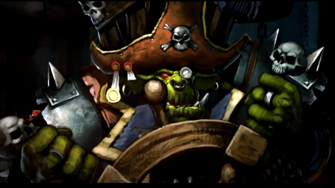Veselí orkové nesou zprávu o posunu vydání Battlefleet Gothic: Armada