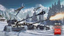 Válečný pochod přidává do War Thunder nové tanky, mapy i letadla