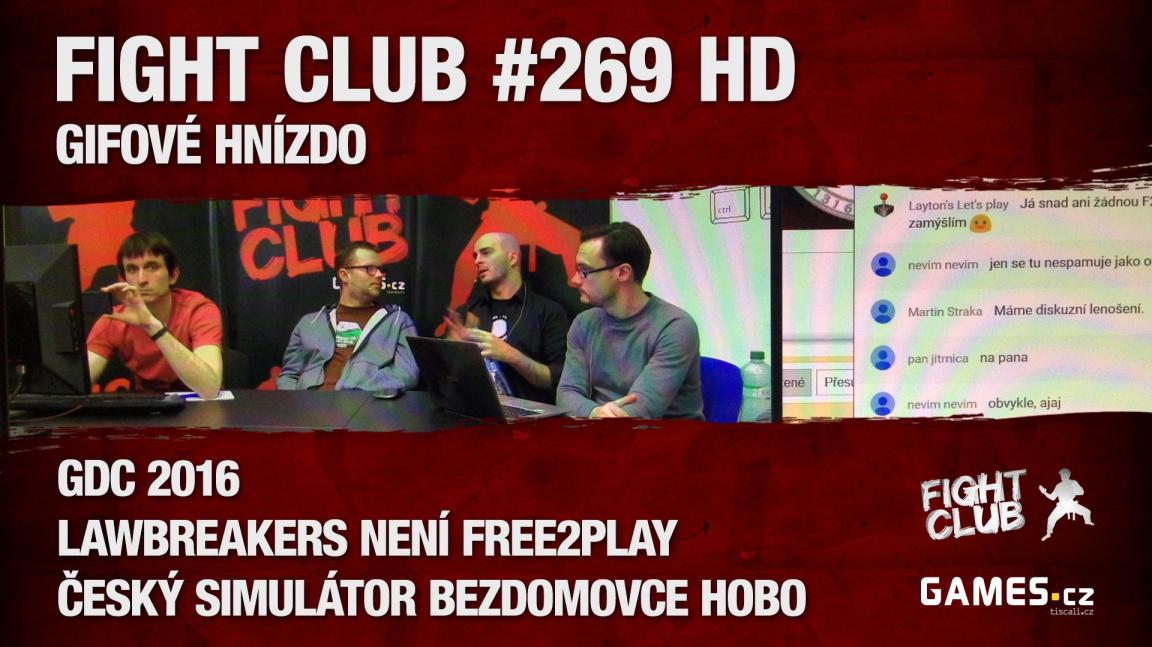 Fight Club #269 HD: Gifové hnízdo