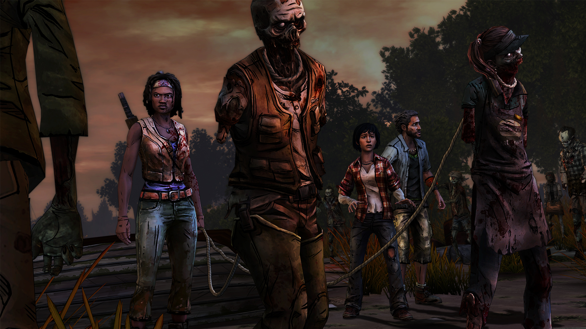 The Walking Dead: Michonne Episode 2 - Give No Shelter