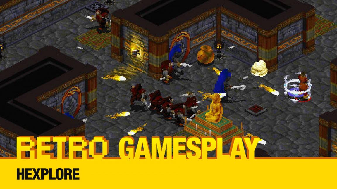Retro GamesPlay: hrajeme hádankové akční RPG Hexplore