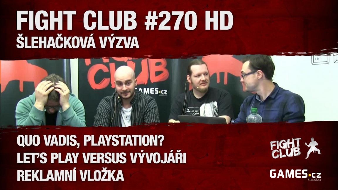 Fight Club #270 HD: Šlehačková výzva