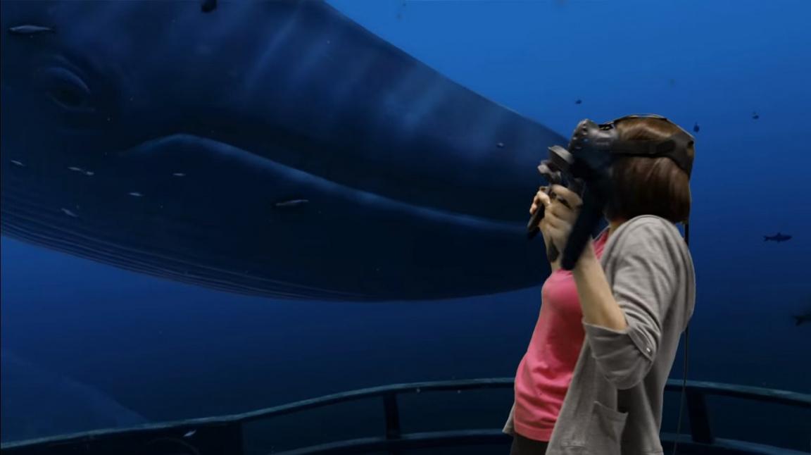 Valve předvádí virtuální realitu SteamVR s HTC Vive