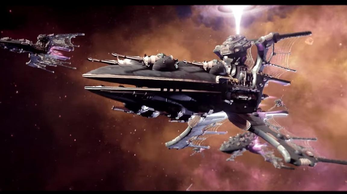 Příští týden vplují do bety Battlefleet Gothic: Armada povýšení Eldaři