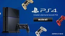 Získejte ovladač zdarma k libovolnému PS4 bundlu na Xzone