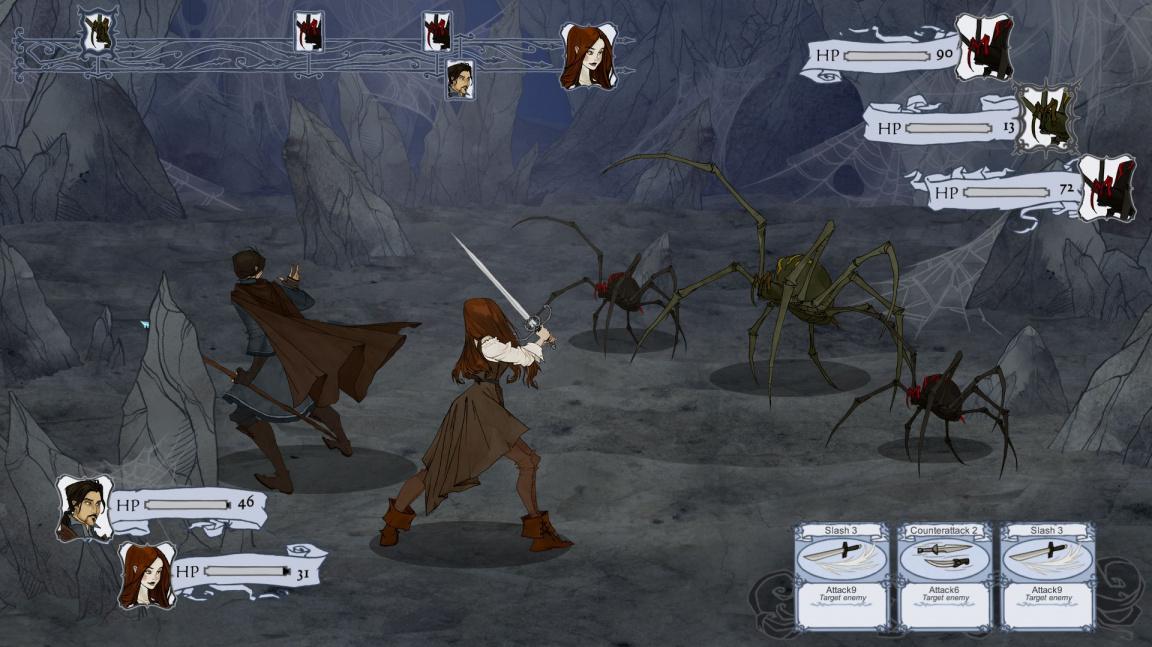 The Hunstman: Winter's Curse se rýsuje jako zajímavý gamebook z filmového universa