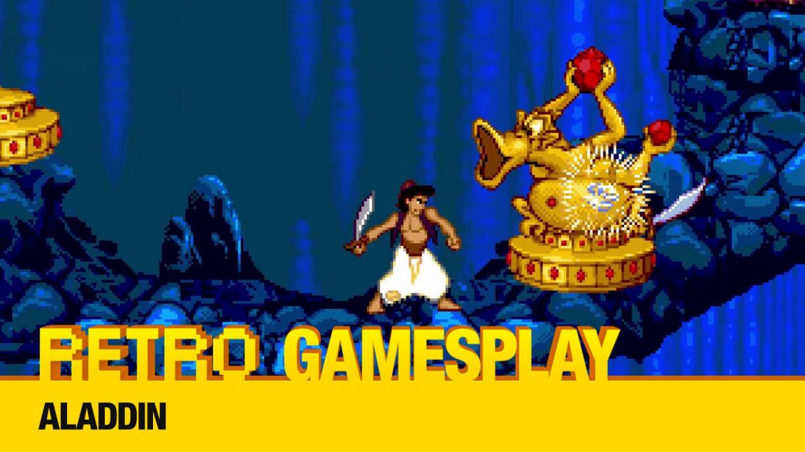 Retro GamesPlay: hrajeme plošinovku Disney's Aladdin
