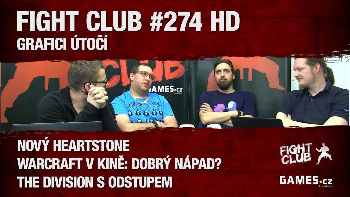 Fight Club #274 HD: Grafici útočí