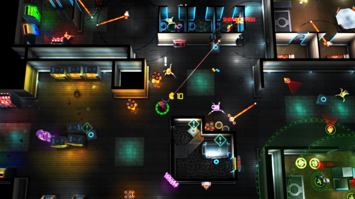Neon Chrome je zběsilá kyberpunková střílečka s rogue-like prvky