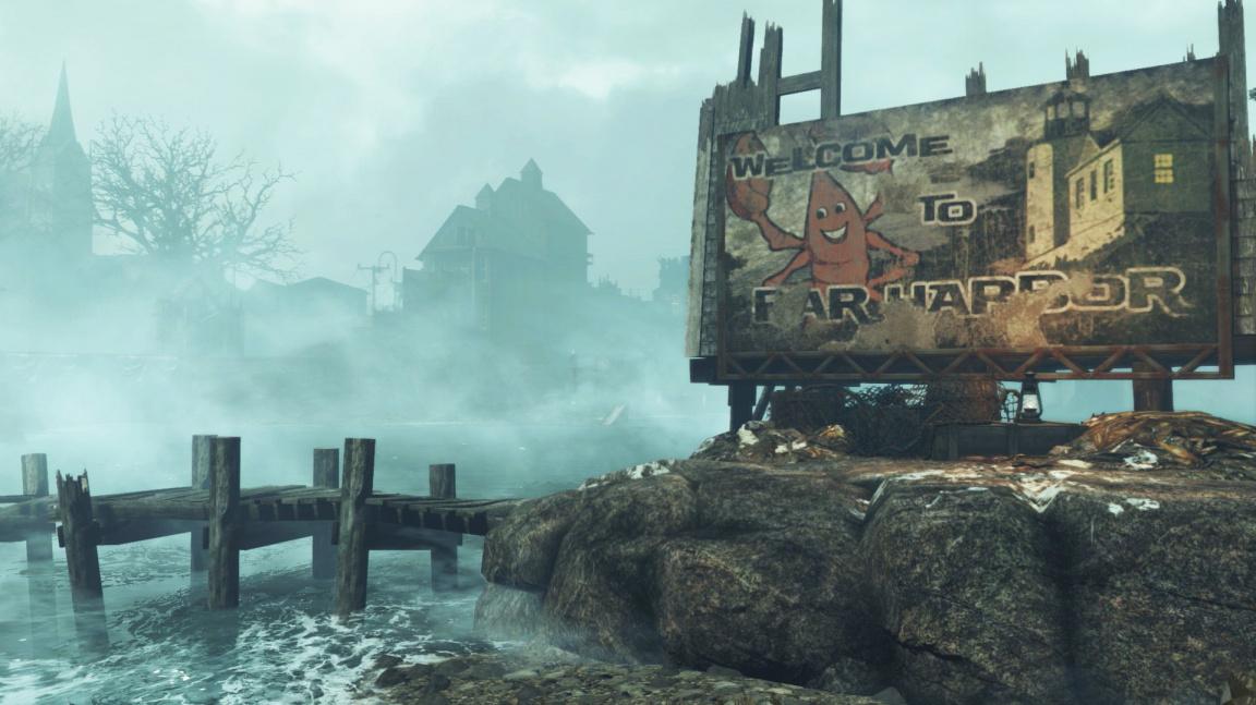 Datadisk Far Harbor pro Fallout 4 vás zavede na izolovaný ostrov zmítaný konfliktem
