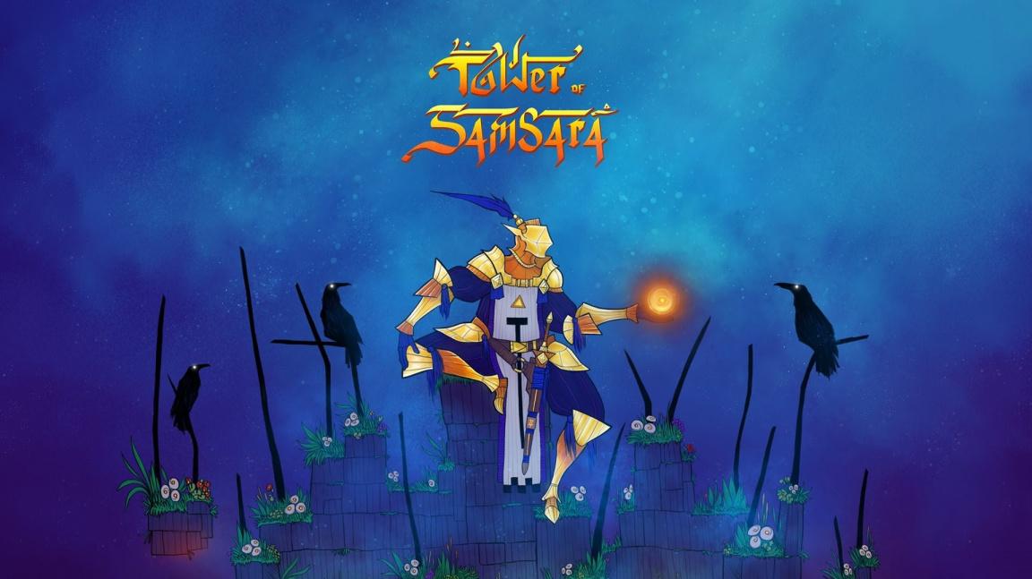 Mytologická plošinovka Tower of Samsara vás nechá vystoupat až k nirváně