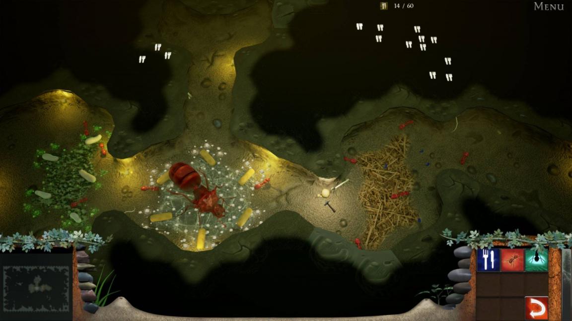 Strategie Empires of the Undergrowth přináší nesmiřitelné války mravenců