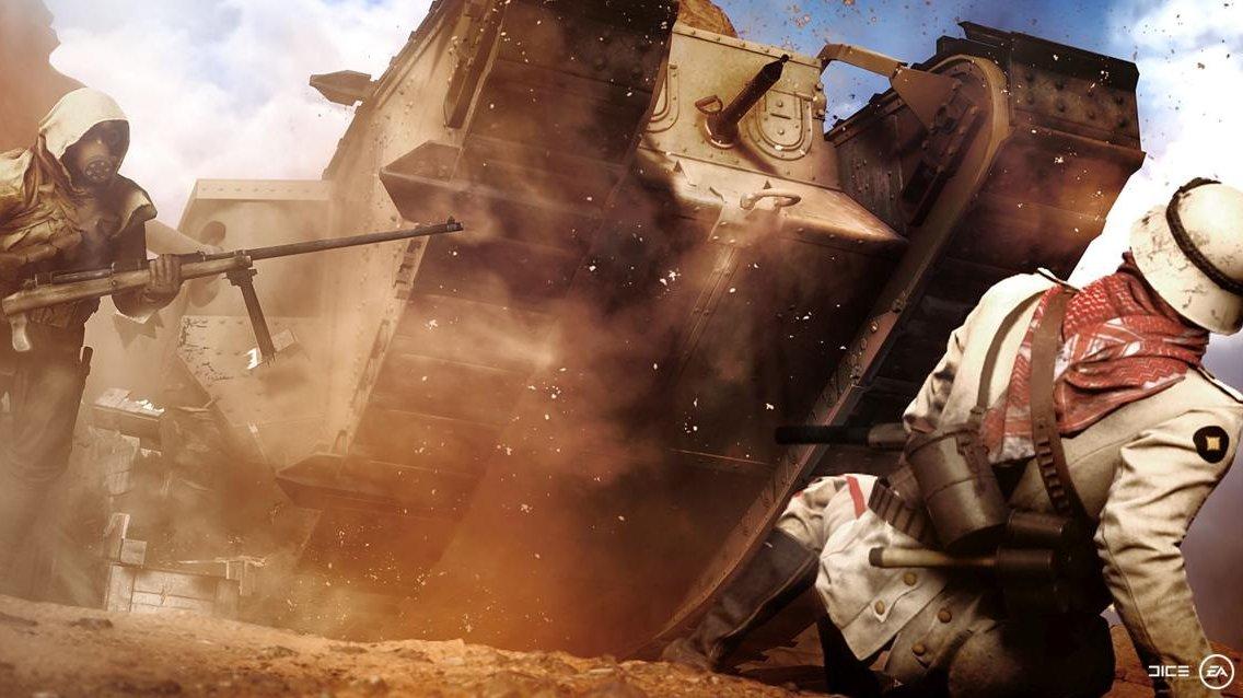 Battlefield 1 bude historicky autentický, ale ne na úkor zábavy