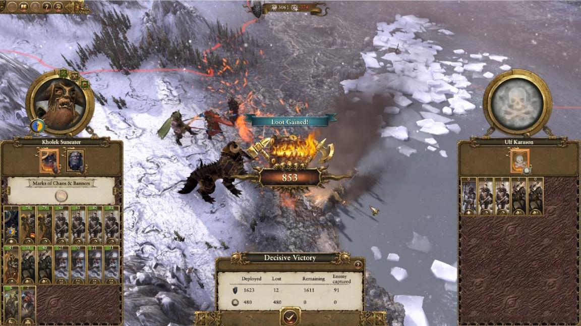 Total War: Warhammer představuje náročnou kampaň za Válečníky Chaosu