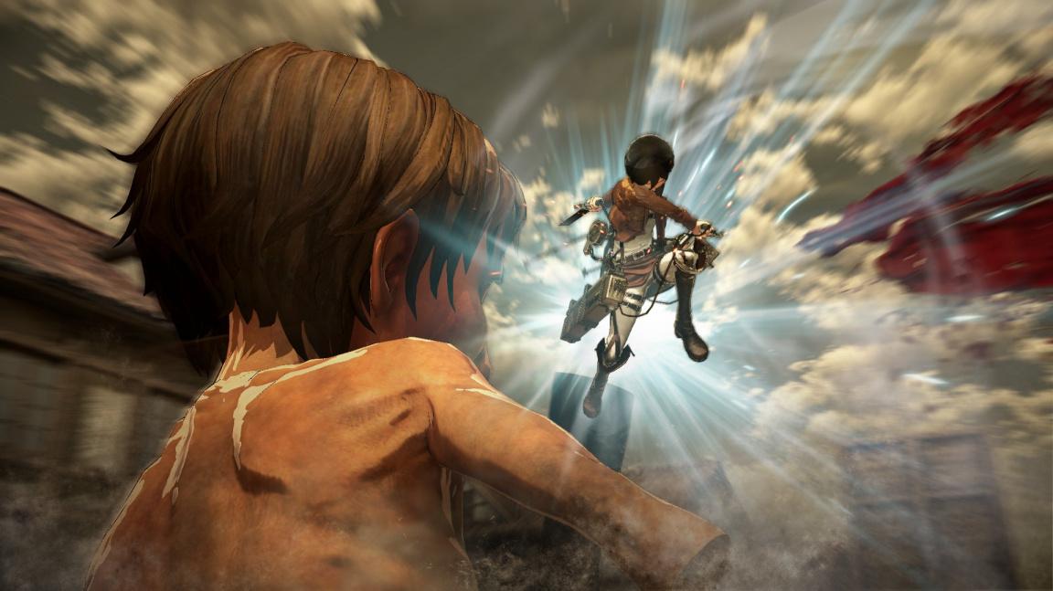 Attack on Titan z vás udělá zabijáckého Spider-Mana