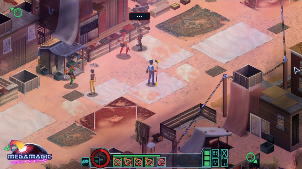 Megamagic: Wizards of the Neon Age kombinuje RPG, strategii a styl 80. let