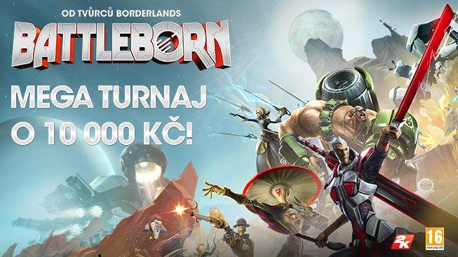 Zúčastni se turnaje ve hře Battleborn o 10 000 Kč! A navíc 100 Kč sleva pro každého!