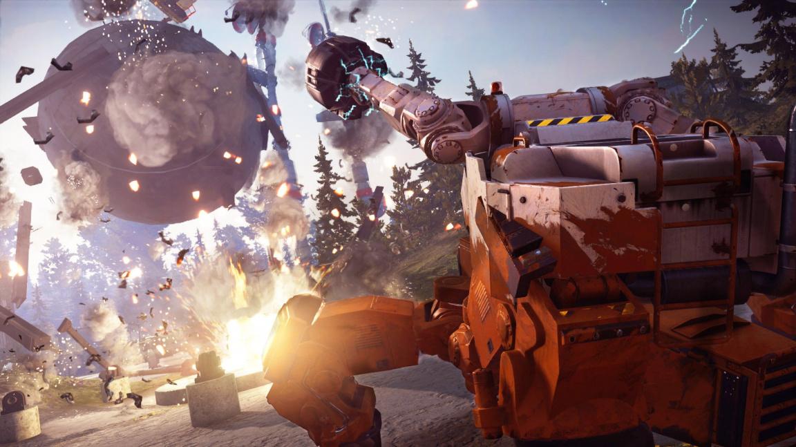Ve druhém DLC do Just Cause 3 nasednete do obřího mecha s Gravity Gunem
