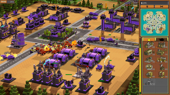 8-bit Armies - recenze RTS ve stylu Command & Conquer