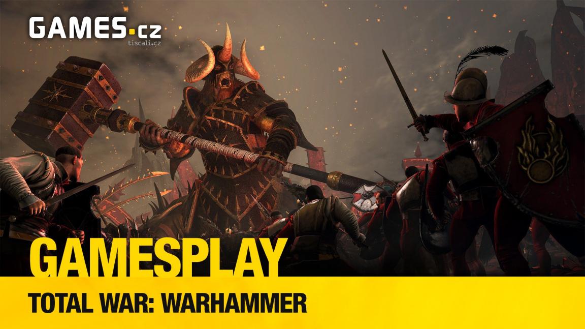GamesPlay: hrajeme strategii Total War: Warhammer
