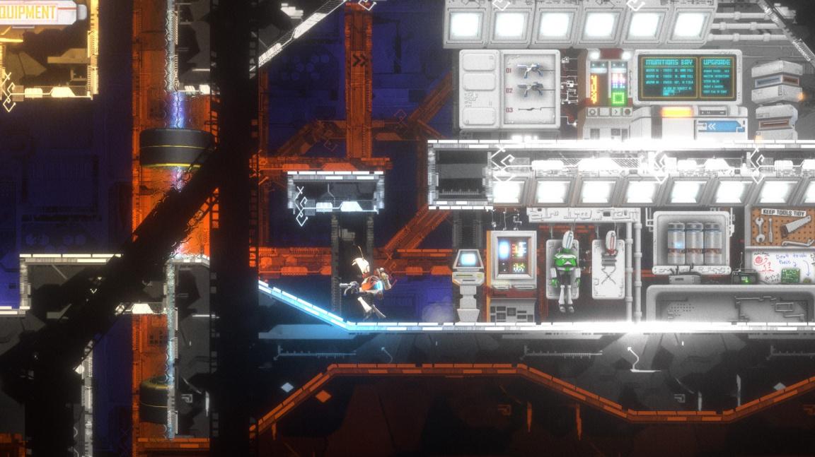 Sci-fi plošinovka Anew: The Distant Light kombinuje explozivní akci s logickými puzzly
